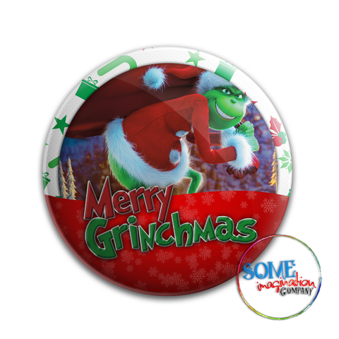 Merry Grinchmas Celebration Button