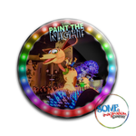Slinky Dog & Sheriff Woody Paint the Night Button
