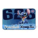Stitch Disneyland Passholder Sticker