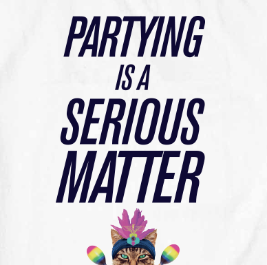 Partying Is A Serious Matter
