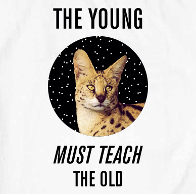The Young Must Teach The Old