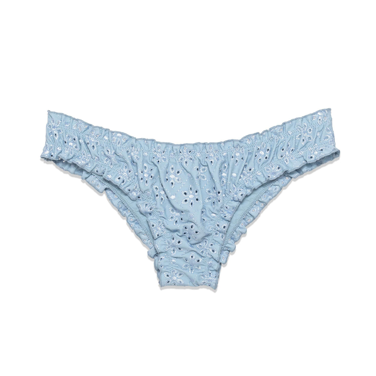 The Chloe Bottom in Ash Eyelet