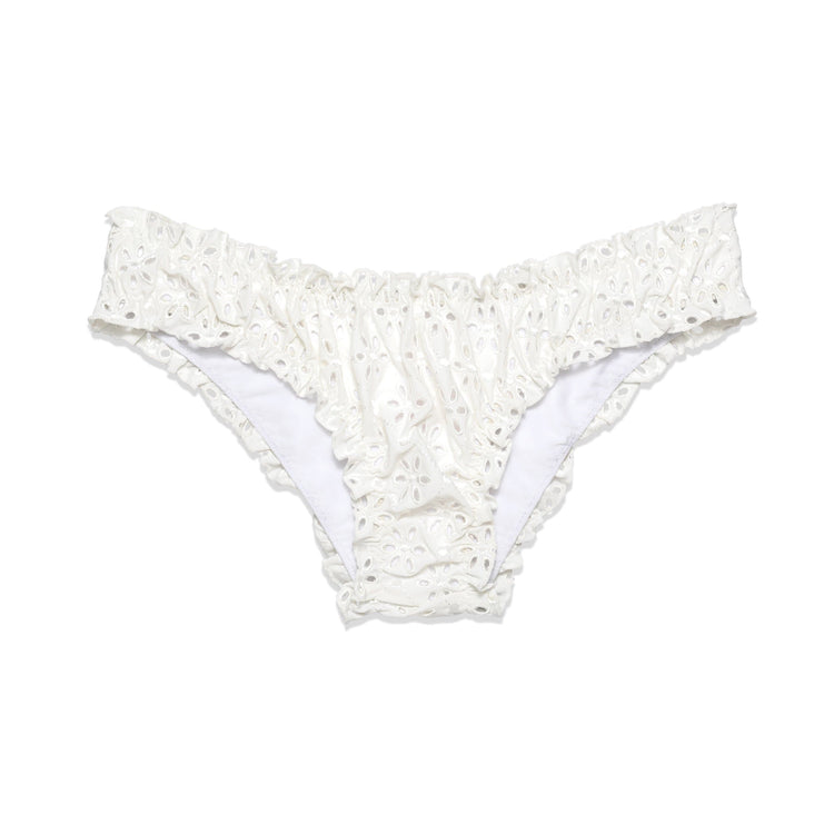 The Chloe Bottom in White Eyelet