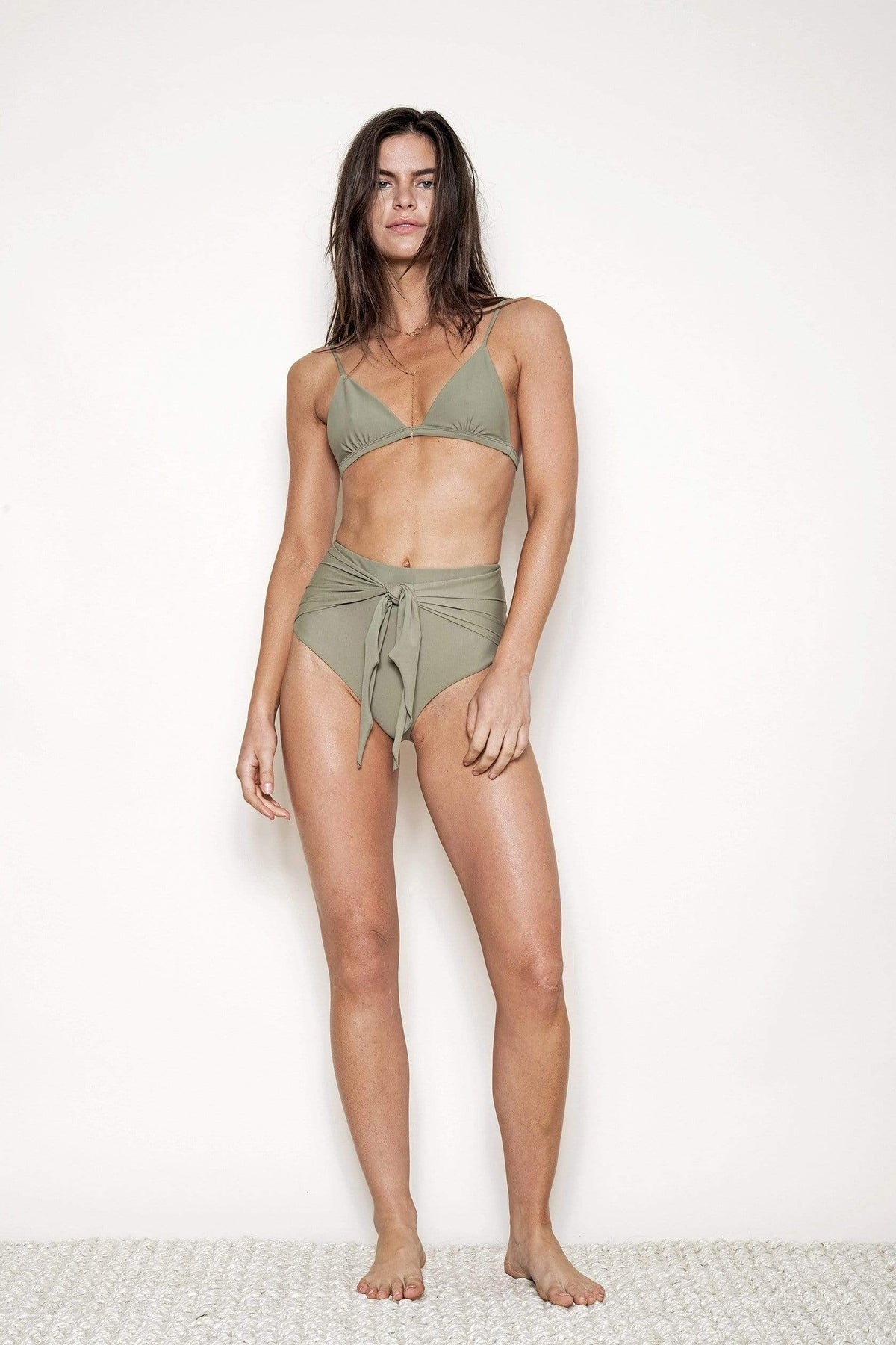 The Brooke Bottom in Olive