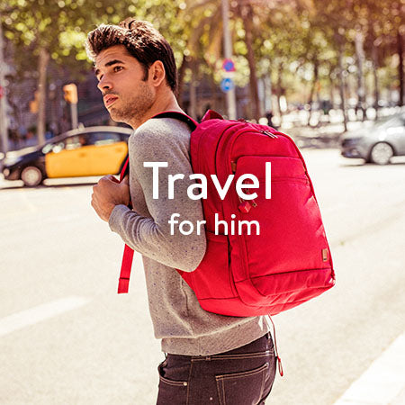 Travel for him