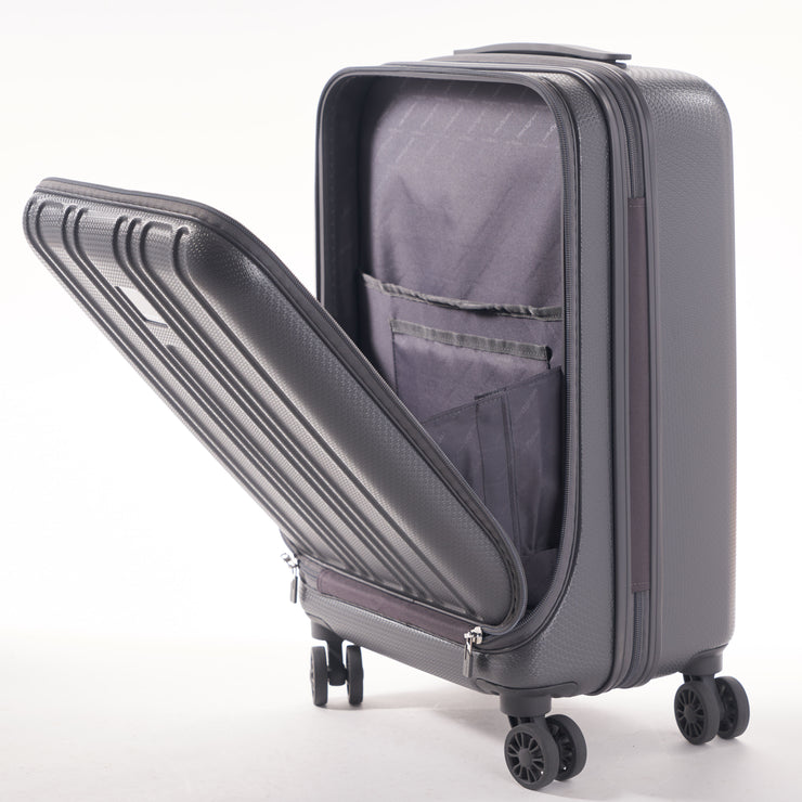 "Boarding 20"" Carry On Spinner with Computer Compartment"