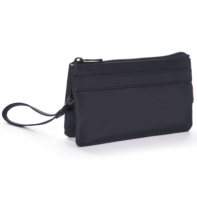 Franc L 3 Zipper Pouch with RFID Pocket