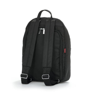 Vogue Large RFID Backpack with Silver Tone Hardware