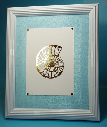Shell Foil Art (Gold, Rose Gold or Silver ONLY)