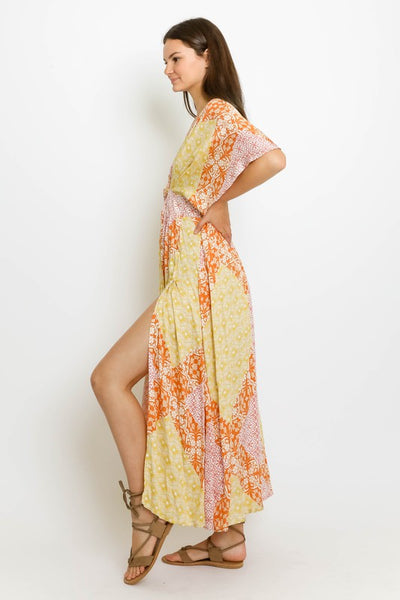 MABEL MULTI V-NECK MAXI