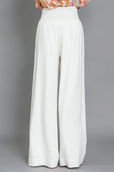 KENNEDY WHITE BEACH PANTS