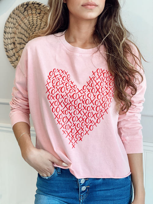 LOVE TO LOVE YOU VALENTINE'S SWEATSHIRT