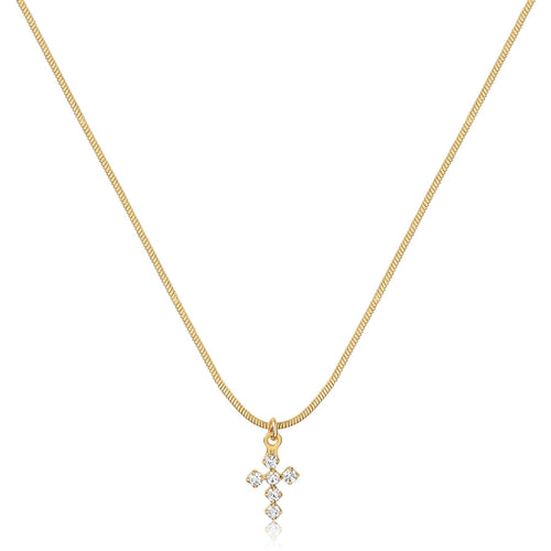 HAILEY CROSS NECKLACE