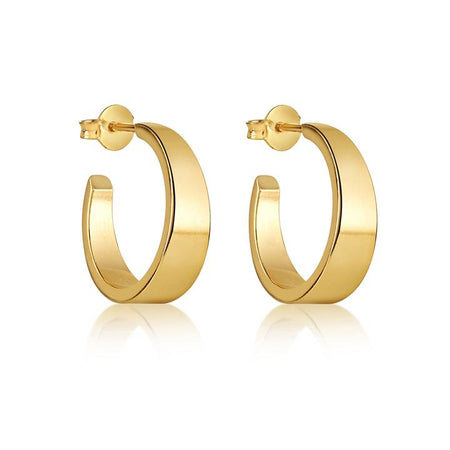CECILIA HOOP EARRING 30MM