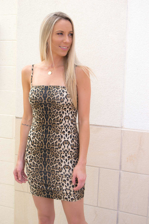 DUA ANIMAL PRINT DRESS