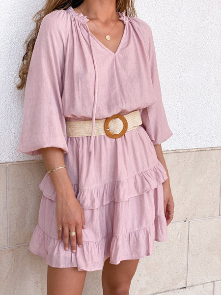 KATE BLUSH DRESS