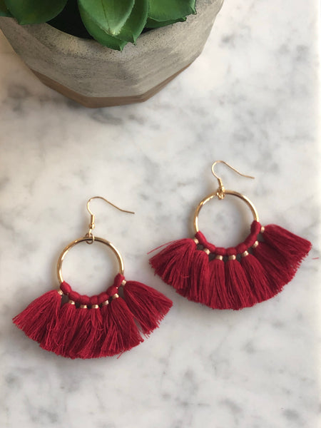 ELAINA TASSEL EARRINGS