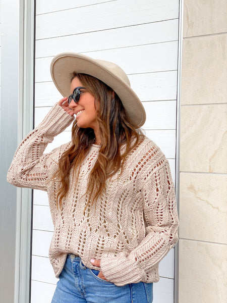 AURORA CREAM SWEATER