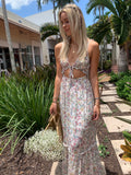 ENCHANTED WHITE FLORAL MAXI