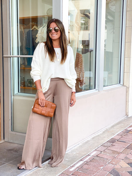 AURA WIDE LEG PANTS