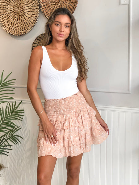 STERLING TIERED SKIRT