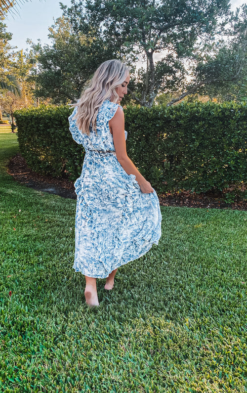 ADORE HIGH NECK MIDI DRESS
