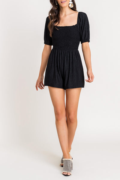 MARINA SQUARE NECK ROMPER