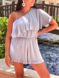 NATALIE ONE SHOULDER ROMPER