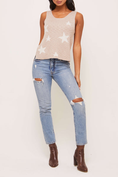 EVERETT STAR SWEATER TANK