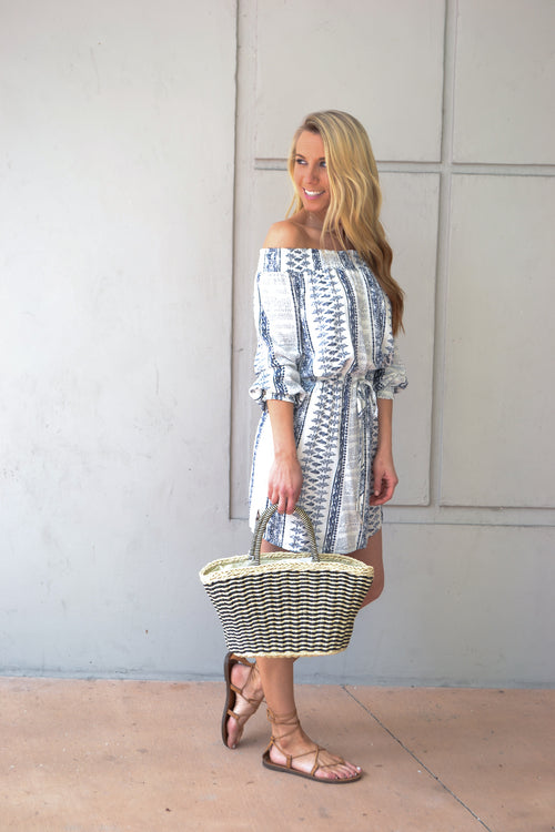 WILLOW OFF THE SHOULDER DRESS