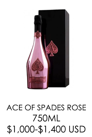 Ace of Spades Rose - 750 ml