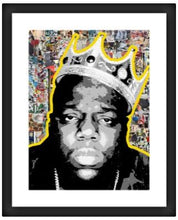 Biggie Smalls  - Framed Poster