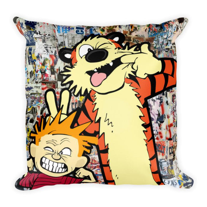 Calvin and Hobbes Pillow