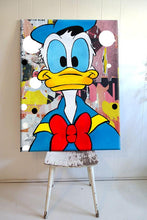 Donald Duck Painting