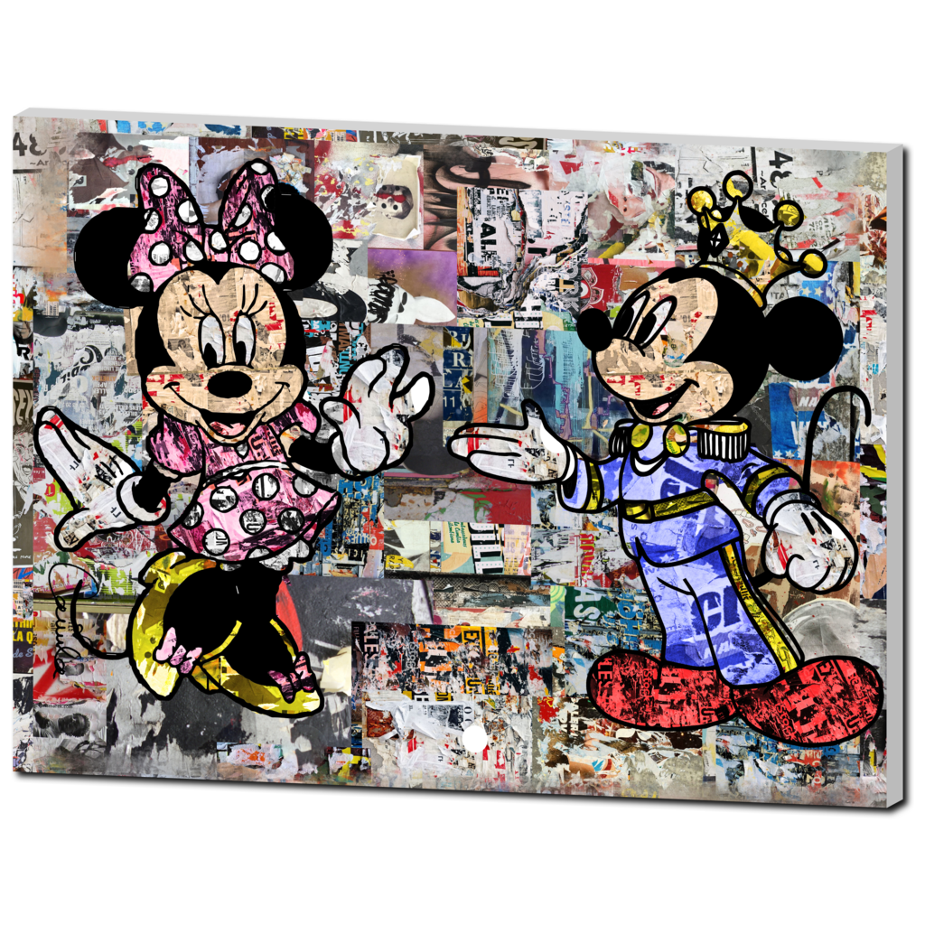 Minnie & Mickey (1pc)