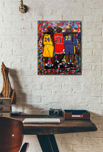 NBA Goats Canvas (Lakers)