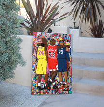 NBA Goats Canvas (Cavaliers)
