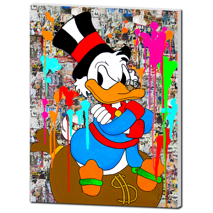 Uncle Scrooge in Wynwood
