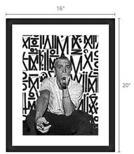 Slim Shady <br><b><font color=red>NEW - Framed Poster!</b></font>