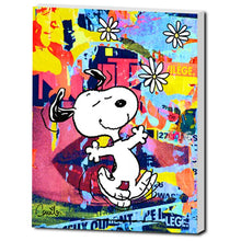 Snoopy Psychedelic Daisies