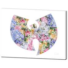 Floral Wu-Tang Clan Canvas
