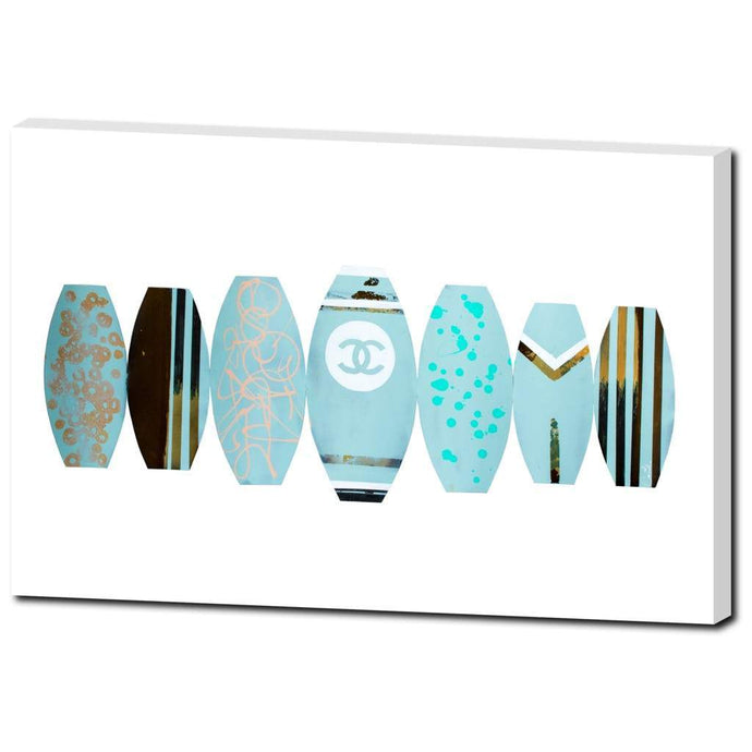 Chanel Surf Boards - Blue
