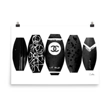 CHANEL Surf Boards Poster
