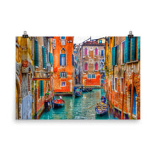 Canale Arcobaleno Poster