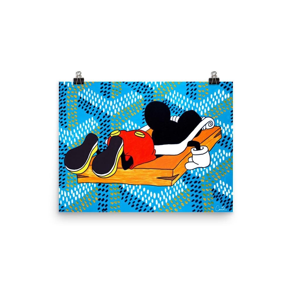 Mickey Mouse Goyard Trap