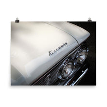 White Mercury Poster