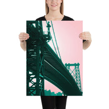 Manhattan Bridge Poster