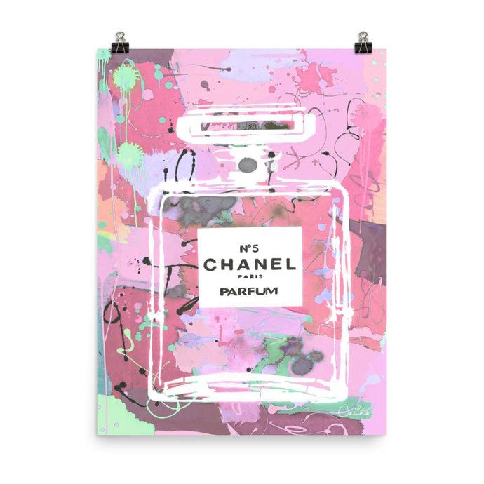 CHANEL Strawberry Poster