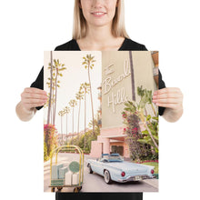 The Beverly Hills Retro Vintage Poster