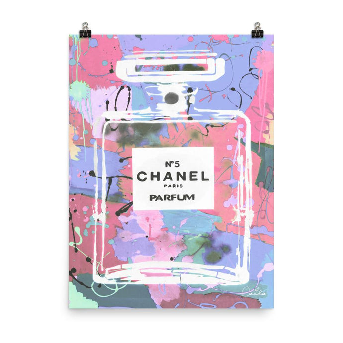 CHANEL Raspberry Poster
